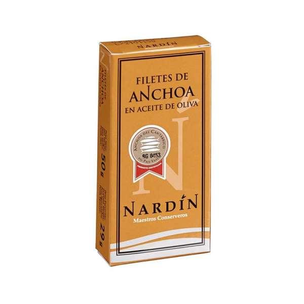 Acciughe Cantabrico Filetti Nardin